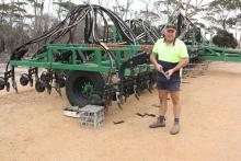 Lake King farm manager Jorg Brinkman says two DBS bars and two Multistreams can accomplish a 10,000ha program in five or six weeks if conditions are good.