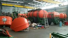 Four Ausplow Multistreams in production at the Jandakot factory this week.