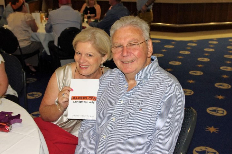 Bernadette Turner and John Ryan AM.