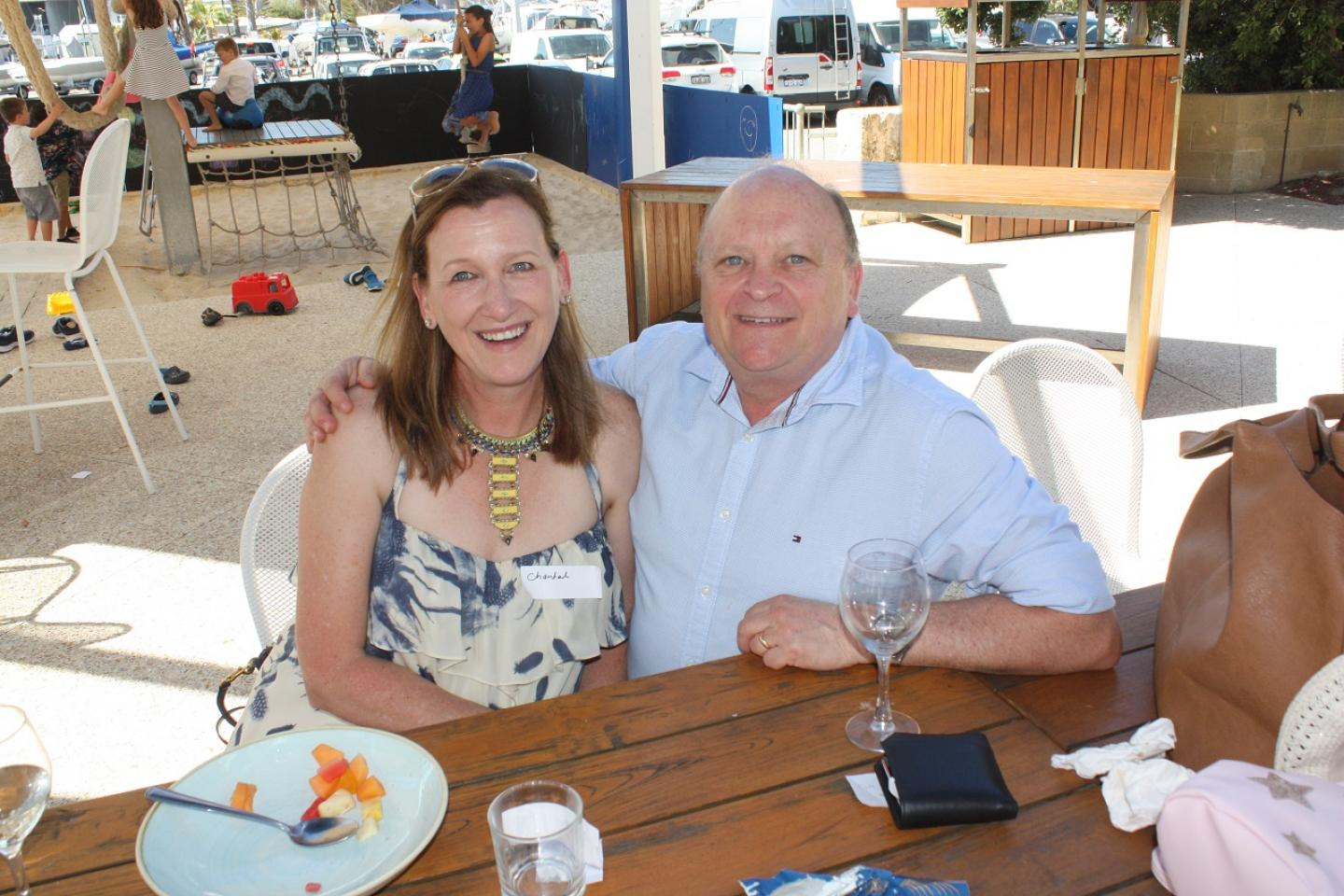 Independent liquid nutrient consultant and chemist Dave Seagreen with his wife Chantelle. Dave is involved in Ausplow's liquid trials at the company's Quairading trial site.