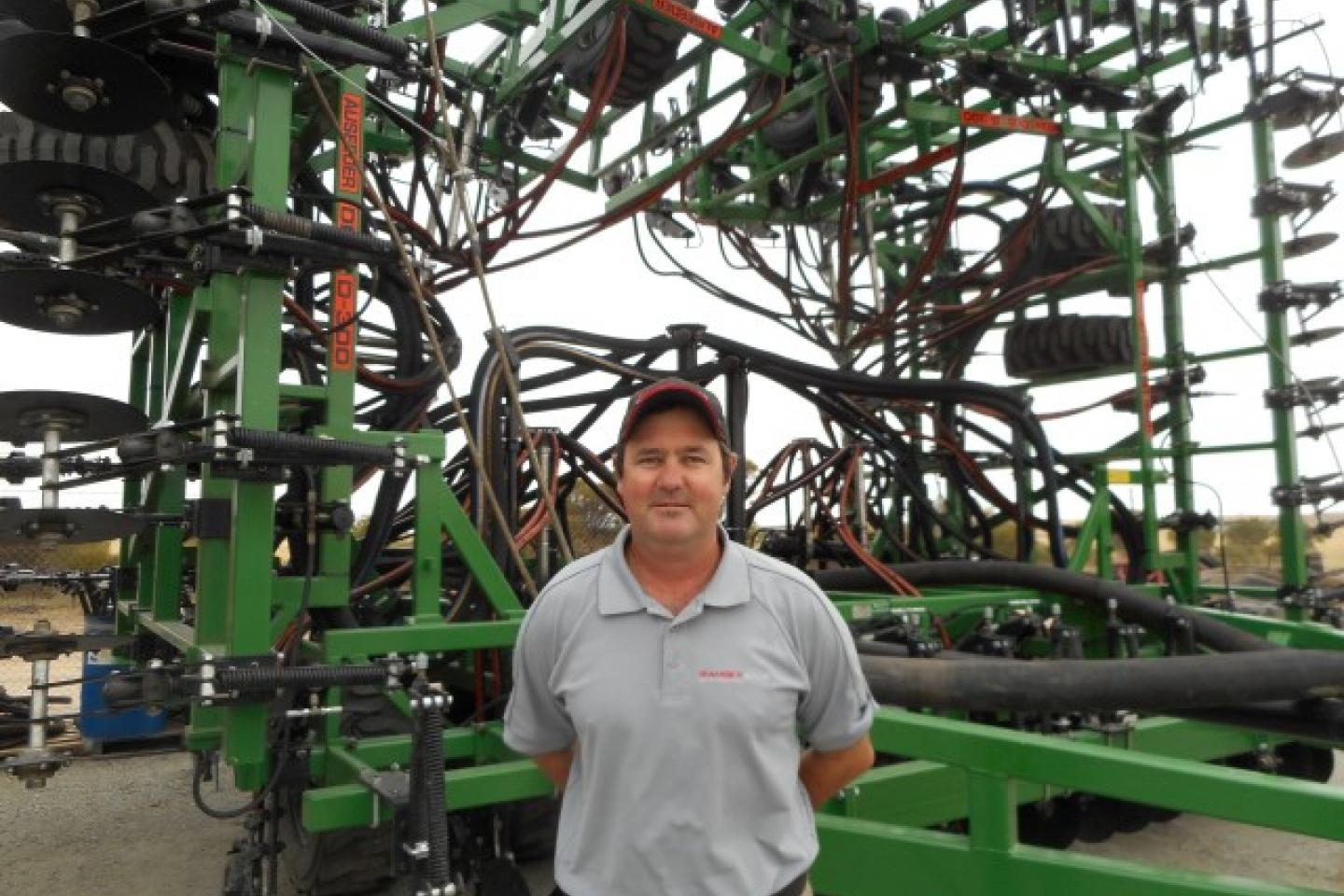 Ramsay Bros South Australia director Hamish Ward.