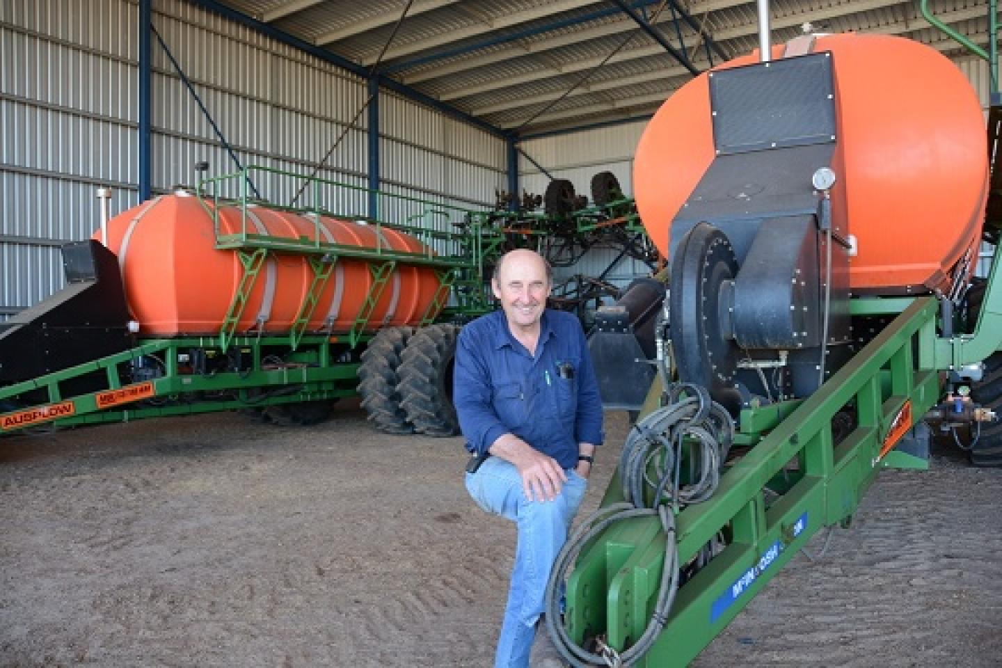 New Norcia farmer Peter Nixon.